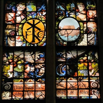 Stained Glass, Window, Decoration, Pattern, Color
