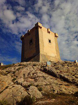 Tower, Castle, Medieval, Historical, Fortification