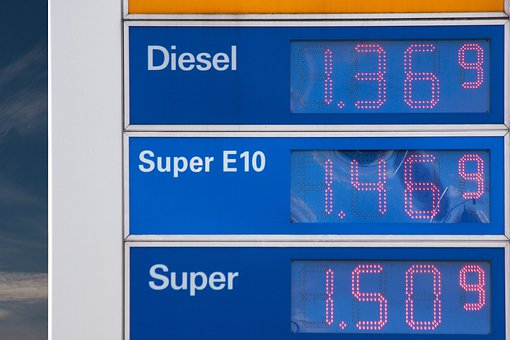 Gasoline Prices, Petrol, Fuel, Petrol Stations, Refuel