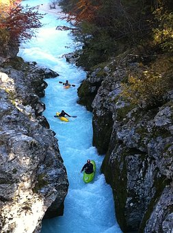 Rafting, Rough River, Rowing, Extreme, Sports, Ship