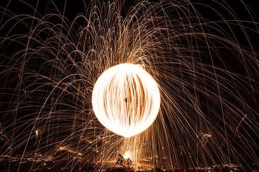 Orb, Fire, Spin, Ball, Hot, Light, Burn, Yellow, Flame