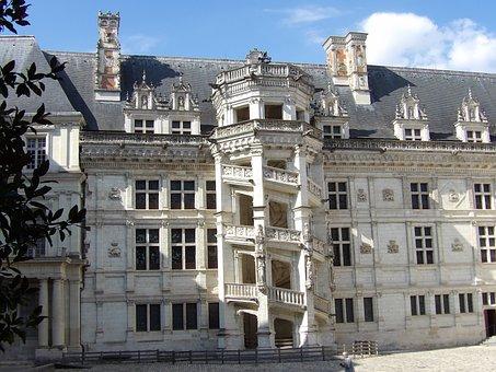 Blois, Castle, Château De Blois, Loire Valley