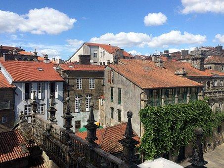 Santiago Of Compostela, Galicia, Compostela, Cathedral