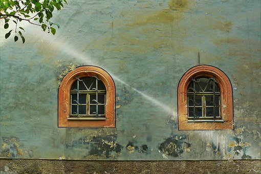 Window, Hauswand, Housewife, Home Front, Facade