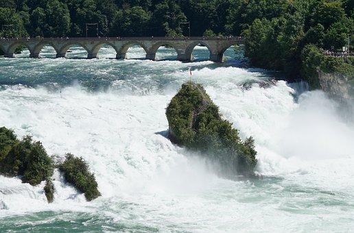 Rhine Falls, High Water, Schaffhausen