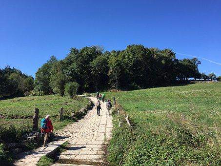 Hiking, Make A Pilgrimage, Pilgrimage, Backpack, Camino