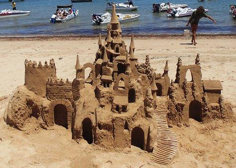 Beach, Búzios, Rio De Janeiro, Litoral, Brazil, Mar