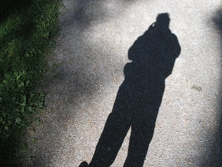 Shadow, Siluette, Black And White, Silhouette, People