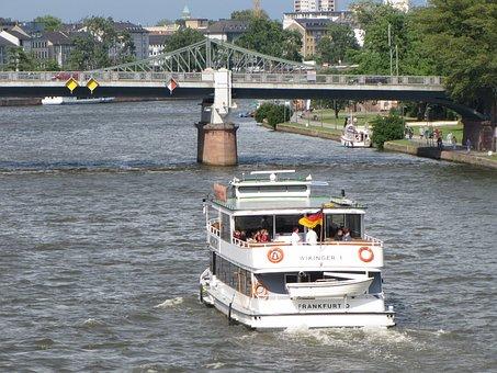 Frankfurt Am Main, Europe, Rio, Ship, Points, Germany