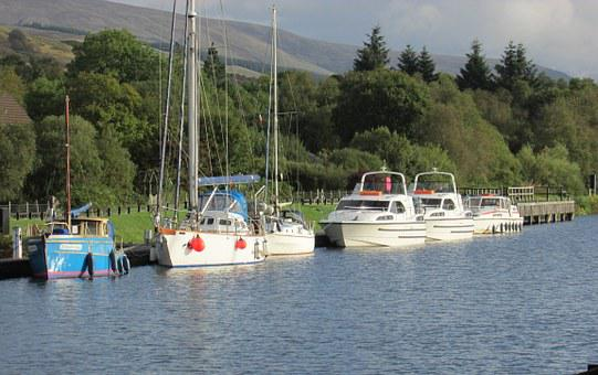 Small Boats, Neptune's Staircase, Caledonian Canal