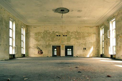 Room, Old, Empty, Abandoned, Interior, Floor, Vintage