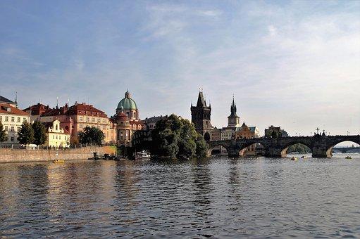 Prague, Capital, Czech Republic, View, Travel, Panorama