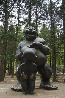 Sculpture, Nami, Wood, Forest, Nature, Works, Park