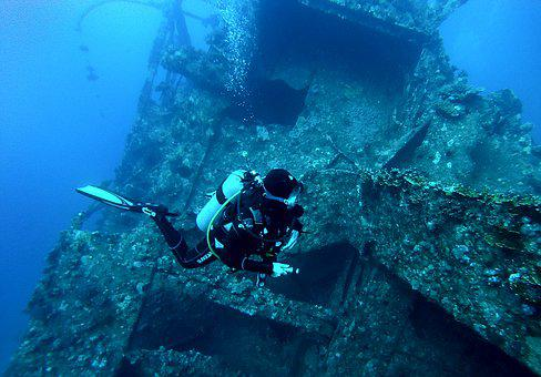 Diving, Egypt, Underwater, Underwater World, Wreck