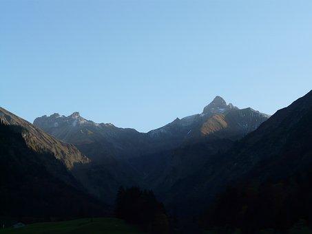 Mountains, Trettach, Scratches, Mountain, Allgäu