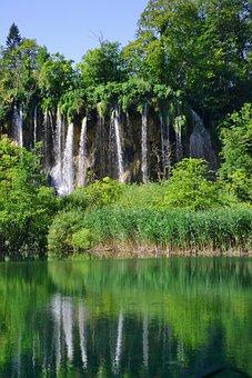 Plitvice, Waterfall, World Heritage, Croatia