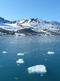 Spitsbergen, Ice Floes, Ice, Cold, Water