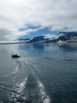 Spitsbergen, Arctic Zodiac, Cold, Winter, Water
