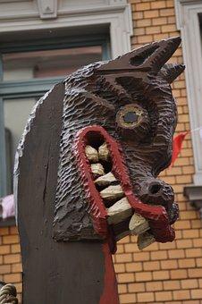 Viking, Ship, Viking Ship, Figurehead, Carnival