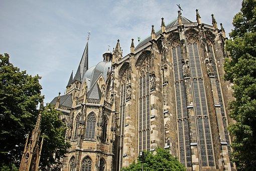 Aachen Cathedral, Dom, Church, Aachen