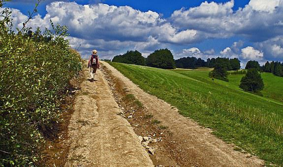 Hiking, Landscape, Footer, Tourism, Way, Trail, Nature