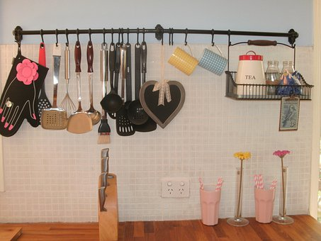 Kitchen, Equipment, Cooking, Country Style, Objects