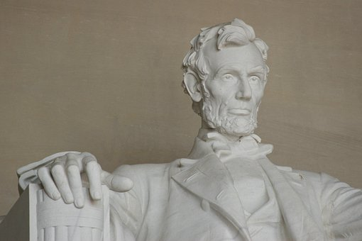 Statue, Abraham Lincoln, Lincoln, Monument, Memorial