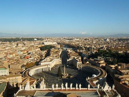 Rome, John Dory Up, View From The Dome