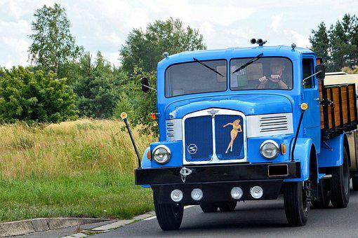Truck, Old, Historically, Oldtimer, Commercial Vehicle