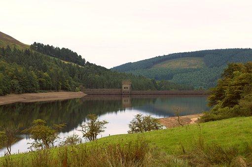 Peak District, Reservoir, Howden Reservoir, Dam