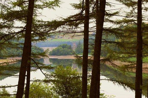 Peak District, Reservoir, Upper Derwent Reservoir, Dam