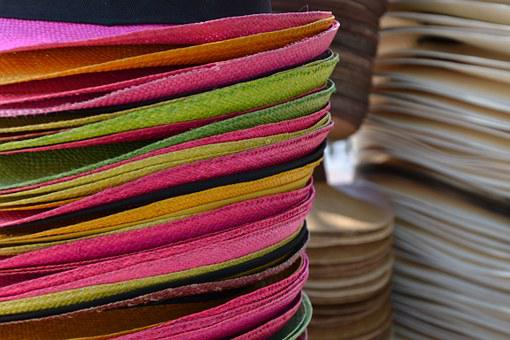 Hat, Colorful, Color, Colombia, Straw Hat