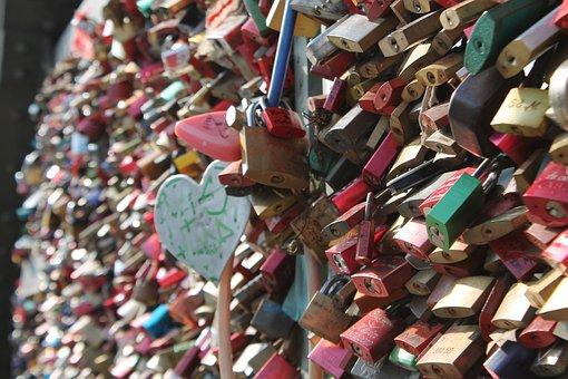 Love Locks, Love, Castle, Friendship, Padlocks, Symbol