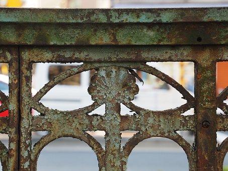 Rust, Brim, Fence, Road