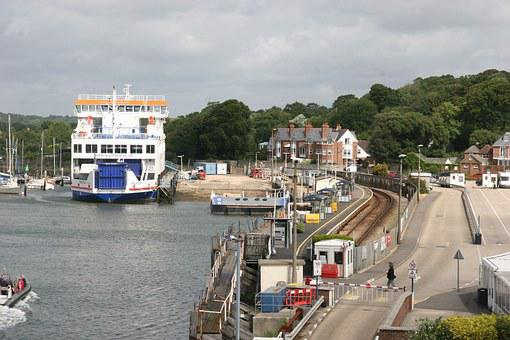 Ferry, North Sea, Ferry Terminal, England, Ship, Water