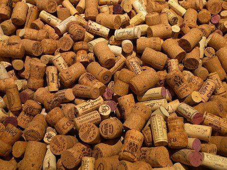 Cork, Bottle Corks, Bottle, Wine, Wooden, Beverage