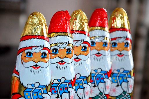 Chocolate Santa Claus, Santa Clauses, Niko Lice