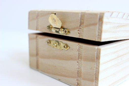 Craft, Wooden, Treasure, Box, Wood, Storage, Jewelry