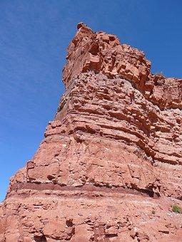 Red, Rock, Sandstone, Moab, Utah, Erosion, Eroded