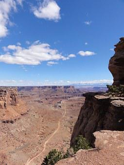 Canyon, Valley, Landscape, Nature, Natural, Sky, Rock