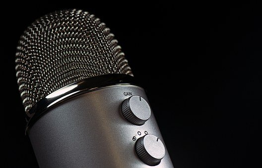 Microphone, Mic, Vocal, Media, Mike, Speaker, Sound
