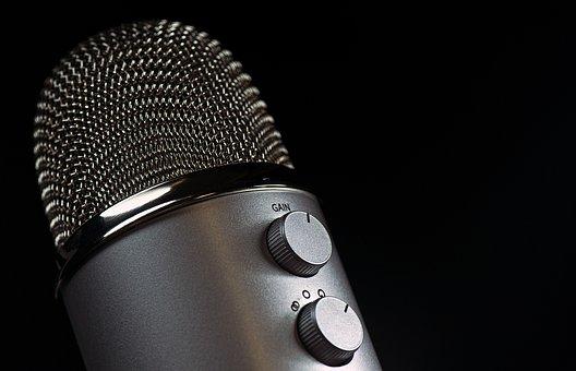 Microphone, Mic, Vocal, Media, Mike, Speaker, Sound