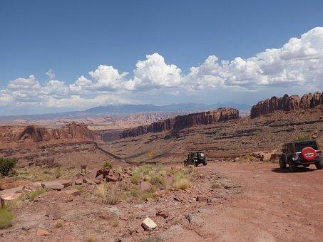 Moab, Canyonland, 4x4, Jeep, Shafer Trail