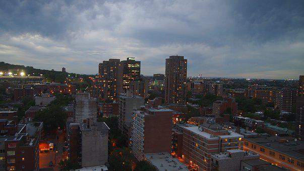 Montreal, Night, Twilight