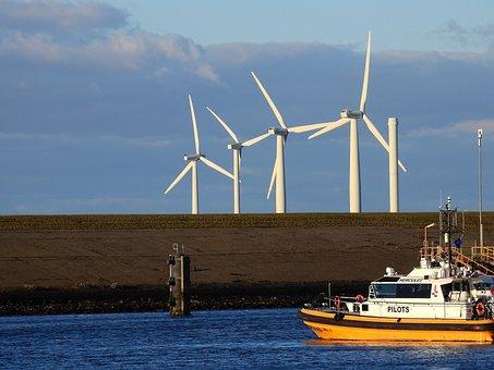 Ship, Boot, Sea, Channel, Port, North Sea, Friesland