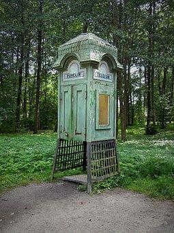 Call Box, Retro, Vintage, Old, History, Past, Finnish