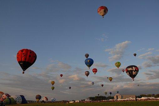 Hot-air Ballooning, Air, Ball, Sky, Region, Lorraine