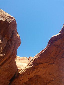 Red Rock, Utah, Park, Red, Usa, Desert, National