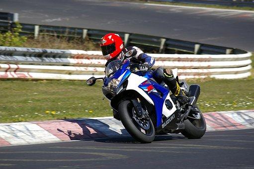 Motorcycle, Man, Biker, Two Wheeled Vehicle