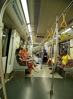 Mrt, Singapore, Train, Transport, City, Public